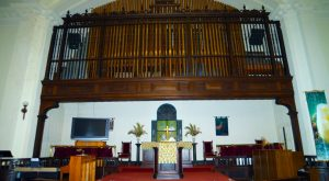 $45,000 procured toward our two-manual pipe organ refurbishment