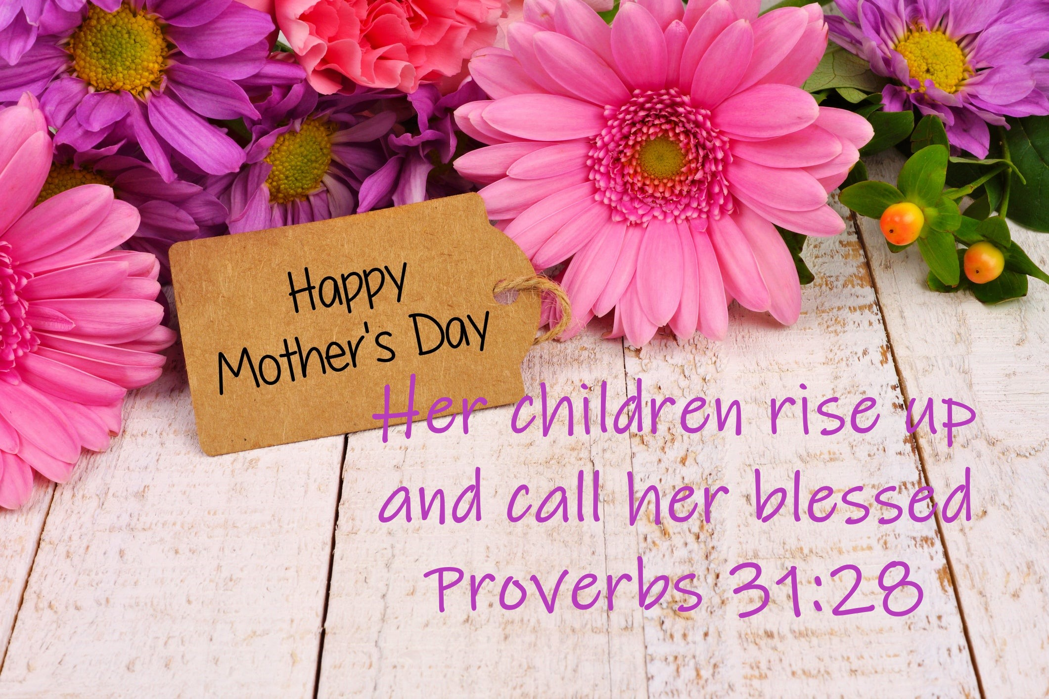 Mother's Day Sunday, May 10th