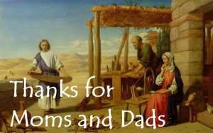 Thanks for Moms and Dads – December 6th, 2020