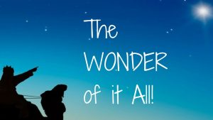The WONDER of it All! – December 20th