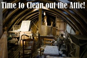 Saturday Clean Out May 1st at 8 AM