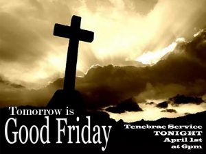 Read more about the article Tenebrae Service