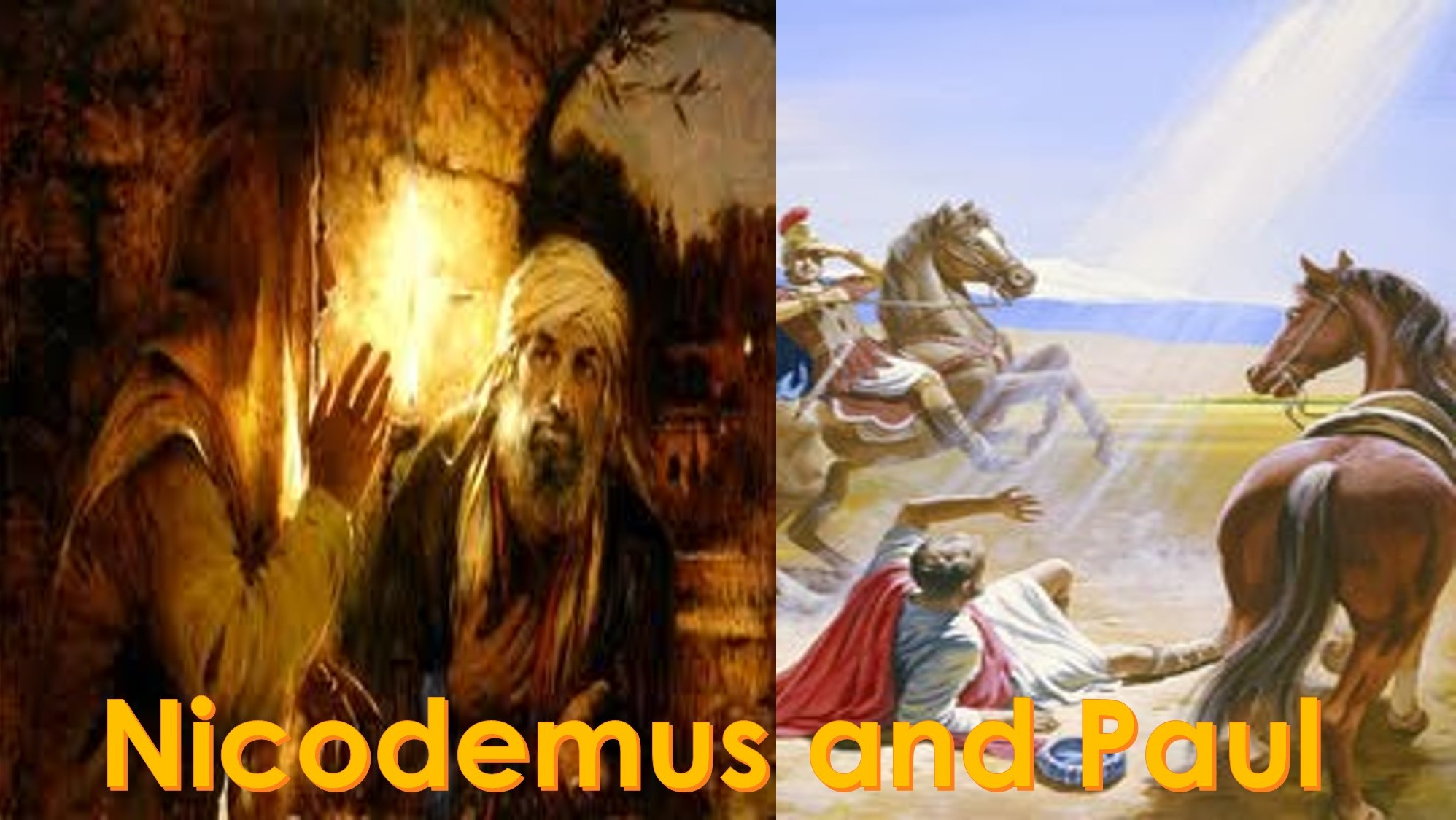 You are currently viewing Nicodemus and Paul – June 27th