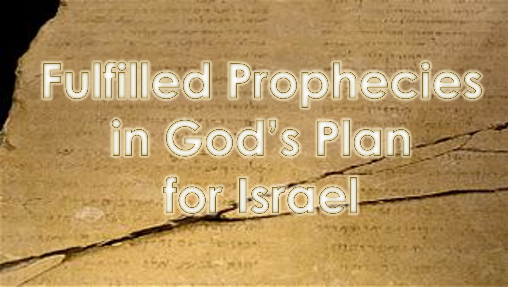 You are currently viewing Fulfilling Prophecies in God's Plan for Israel – July 11th
